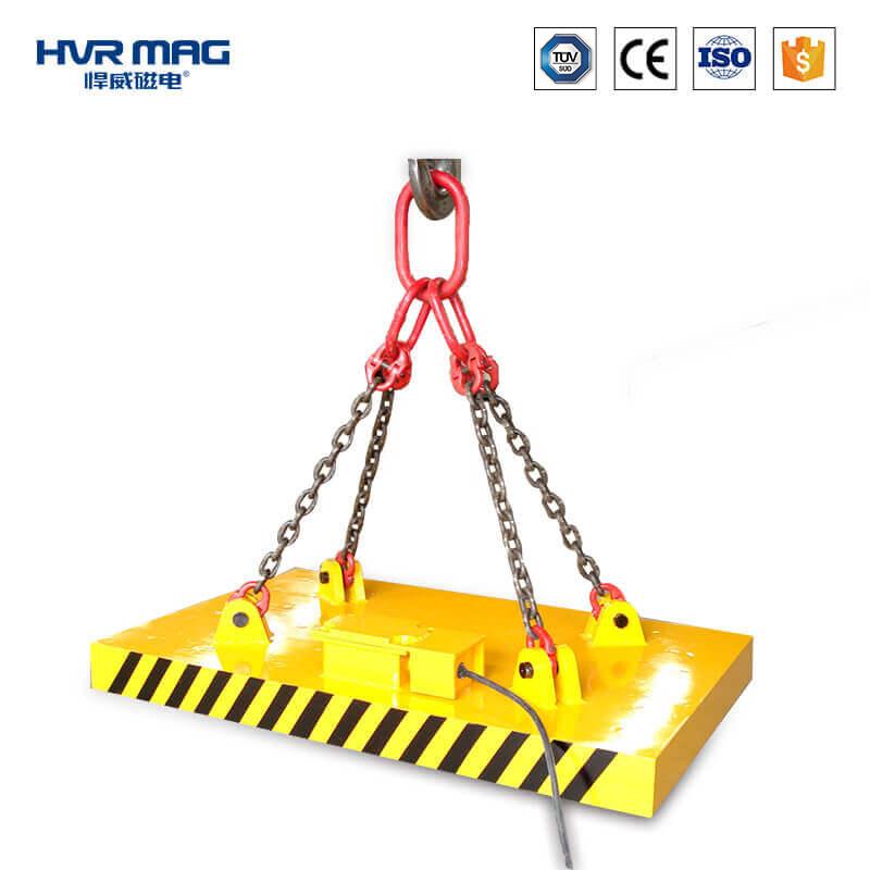 吊方坯等型材用电永磁铁-悍威