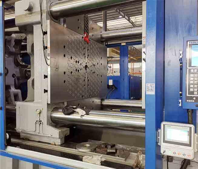 泰瑞注塑机1500吨磁力模板