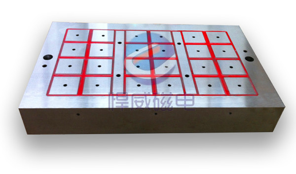 龙门铣床专用电永磁吸盘