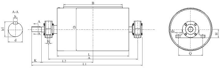 磁选机-YL1永磁轮(全磁)