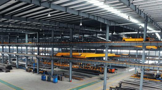 钢结构生产线钢板吊装搬运磁力吊具-悍威磁电科技有限